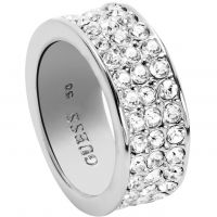 Femmes Guess Acier inoxydable G ROUNDS RING SIZE P