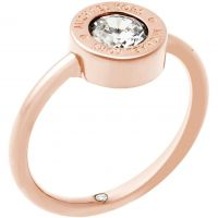 Femmes Michael Kors PVD rose plating Bague Taille P